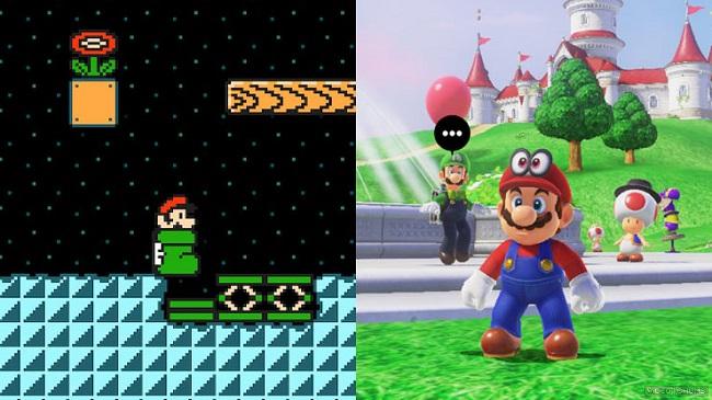Differences between 2D vs 3D Mario Games
