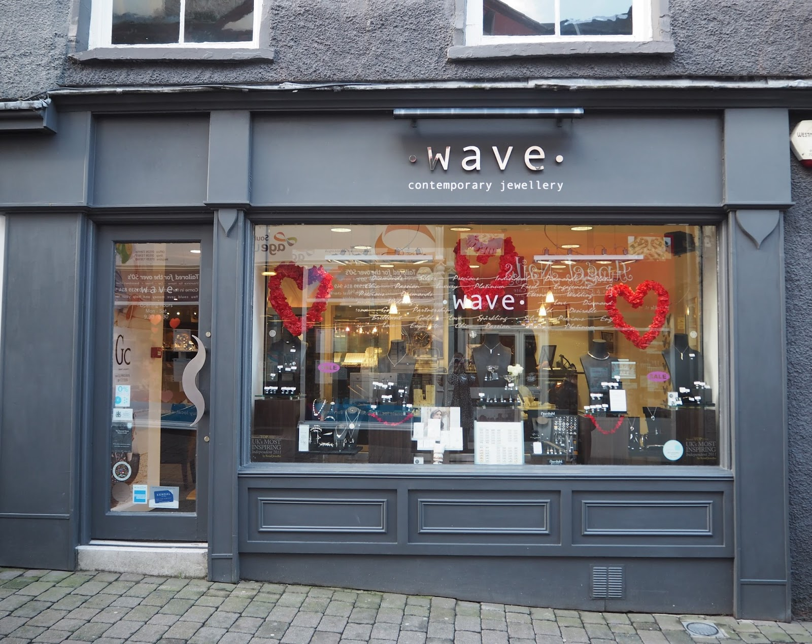Contemporary Jewellers, Wave, Finkle Street, Kendal