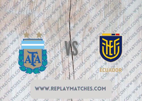 Argentina vs Ecuador -Highlights 04 July 2021