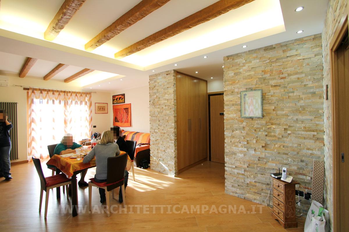 Diari di un architetto rustico o moderno for Piani di casa rustici con soppalco