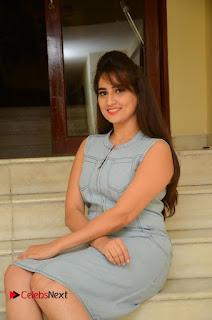 Actress Manjusha Pictures in Short Dress at Dora Movie Audio Launch  0046.JPG