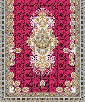 Lavanya-Geometric-Textile-Kaftan-27a