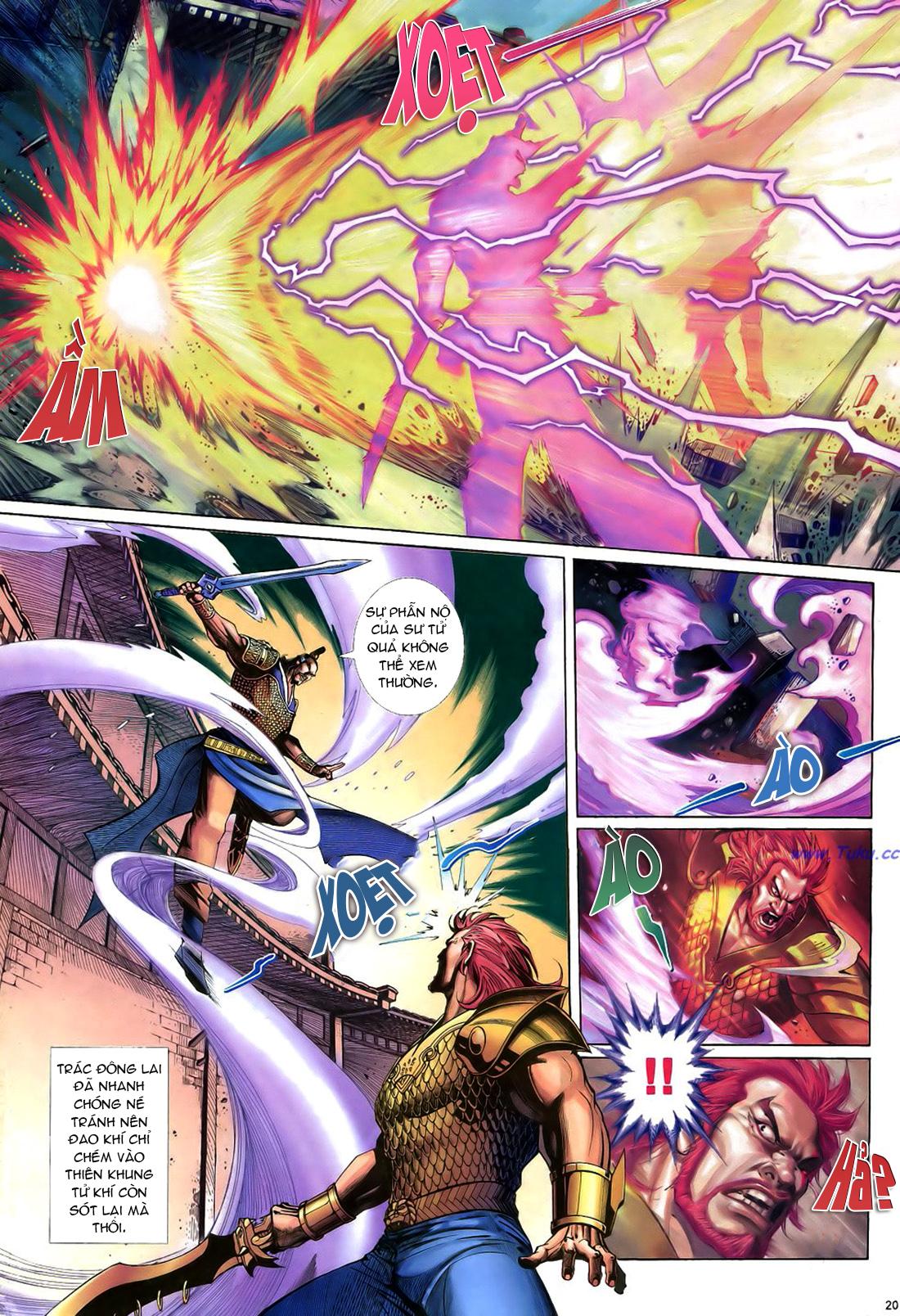 Anh hùng vô lệ Chap 22 trang 21