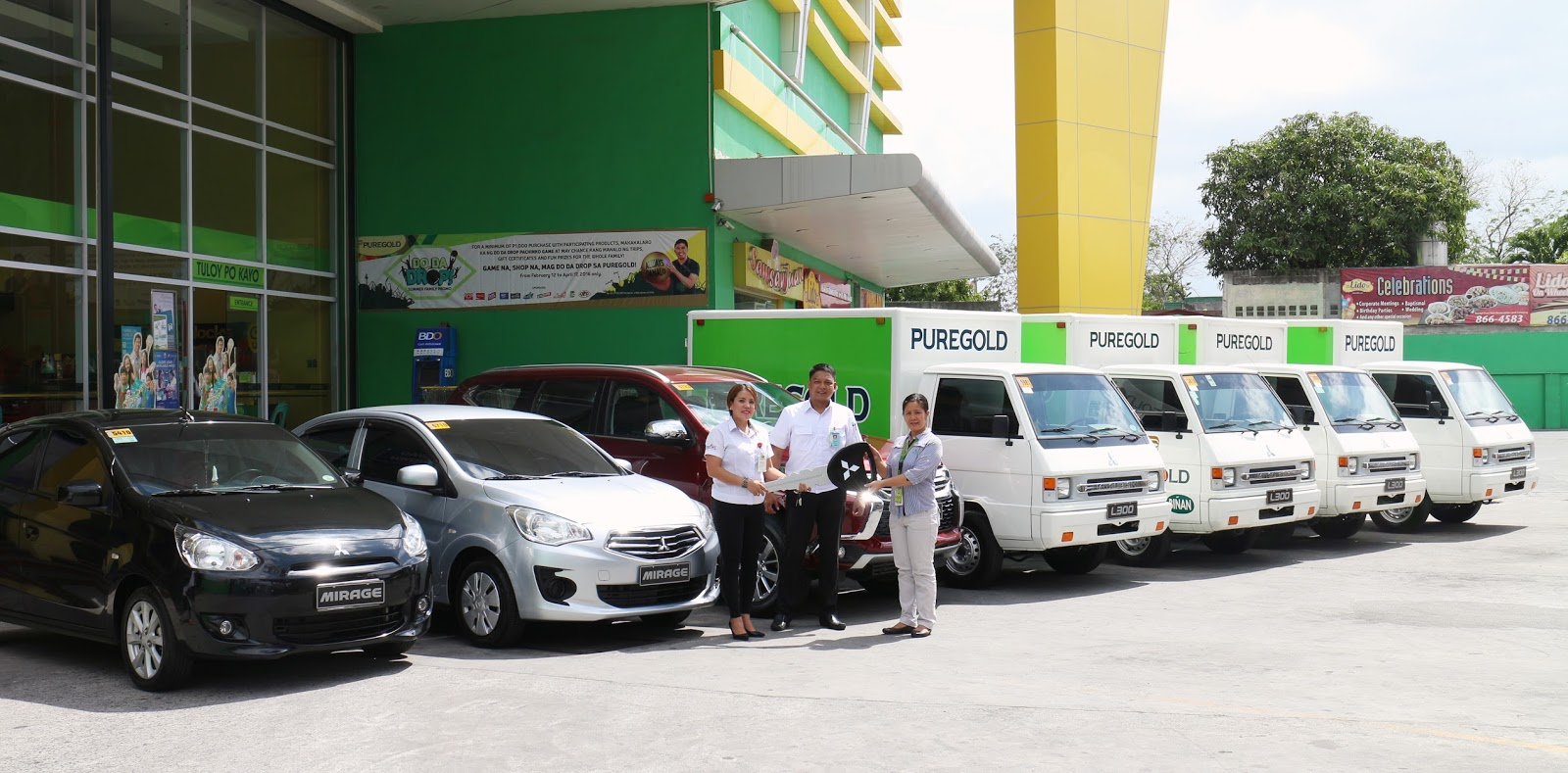Puregold chooses Mitsubishi vehicles