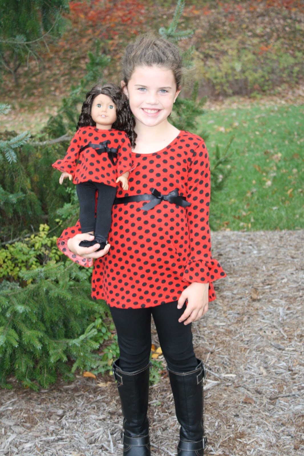 These girl and doll matching clothes are made of soft, silky satin material. The print is a perfect night time design with stars and moons and .