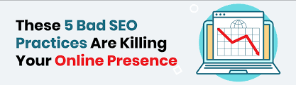 5 bad SEO practices
