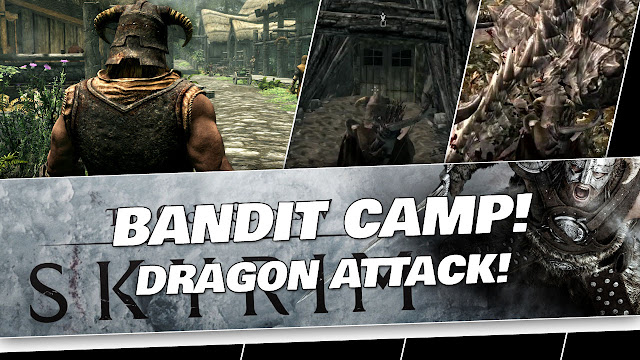 SKYRIM 2020 Gameplay! Halted Stream Camp, Dragon Attack & Lake View Manor!