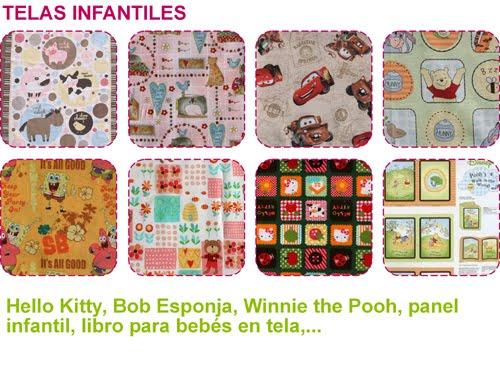 Nuevas telas infantiles para patchwork - Telas infantiles online ...