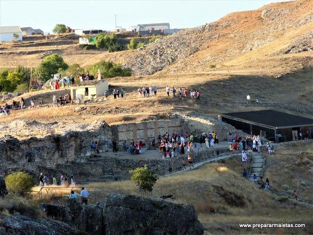 visitar ruinas romanas Valeria Cuenca