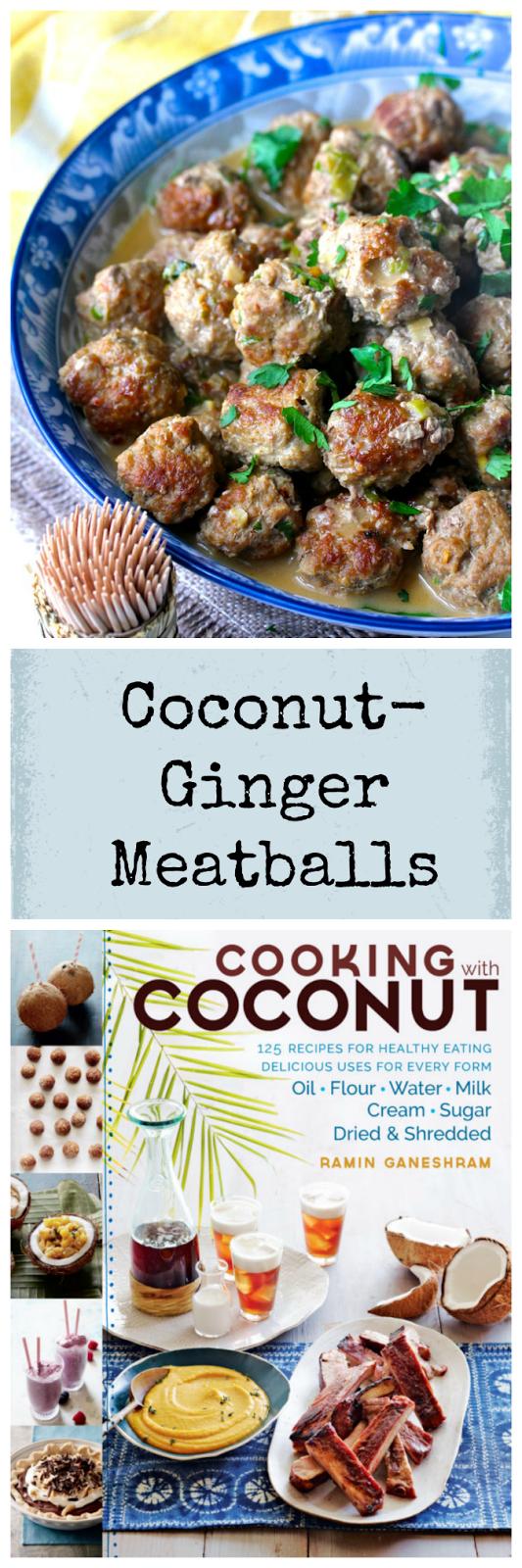 Coconut-Ginger Meatballs