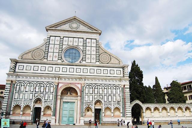 Basílica de Santa Maria Novella en Florencia