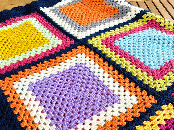 Easy Peasy Blanket Finish