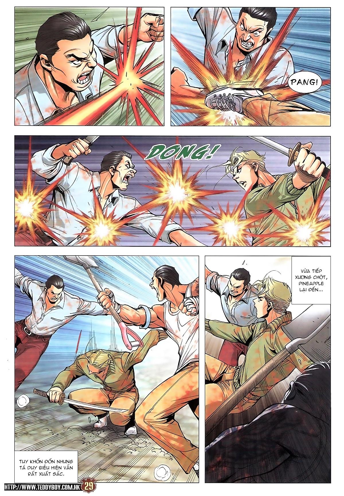 Người Trong Giang Hồ chapter 1834: kim mông không vs kim mông không trang 26
