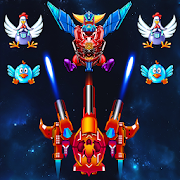 Chicken Shooter: Galaxy Attack Unlimited Coins MOD APK