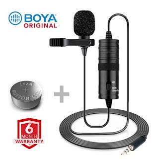 Boya M1 Microphone মাত্র 900 টাকায় পাওয়া যাচ্ছে ! (Original with 6 Month Warranty )