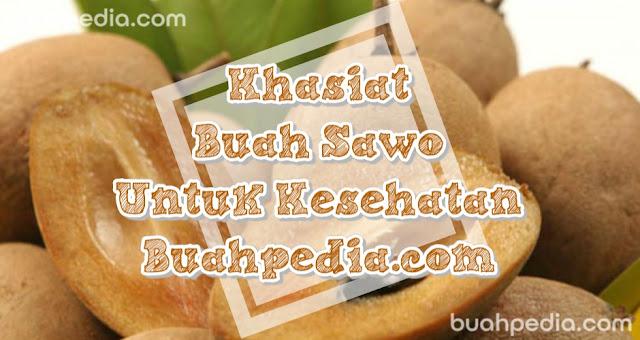 Benefits of sapodilla fruit
