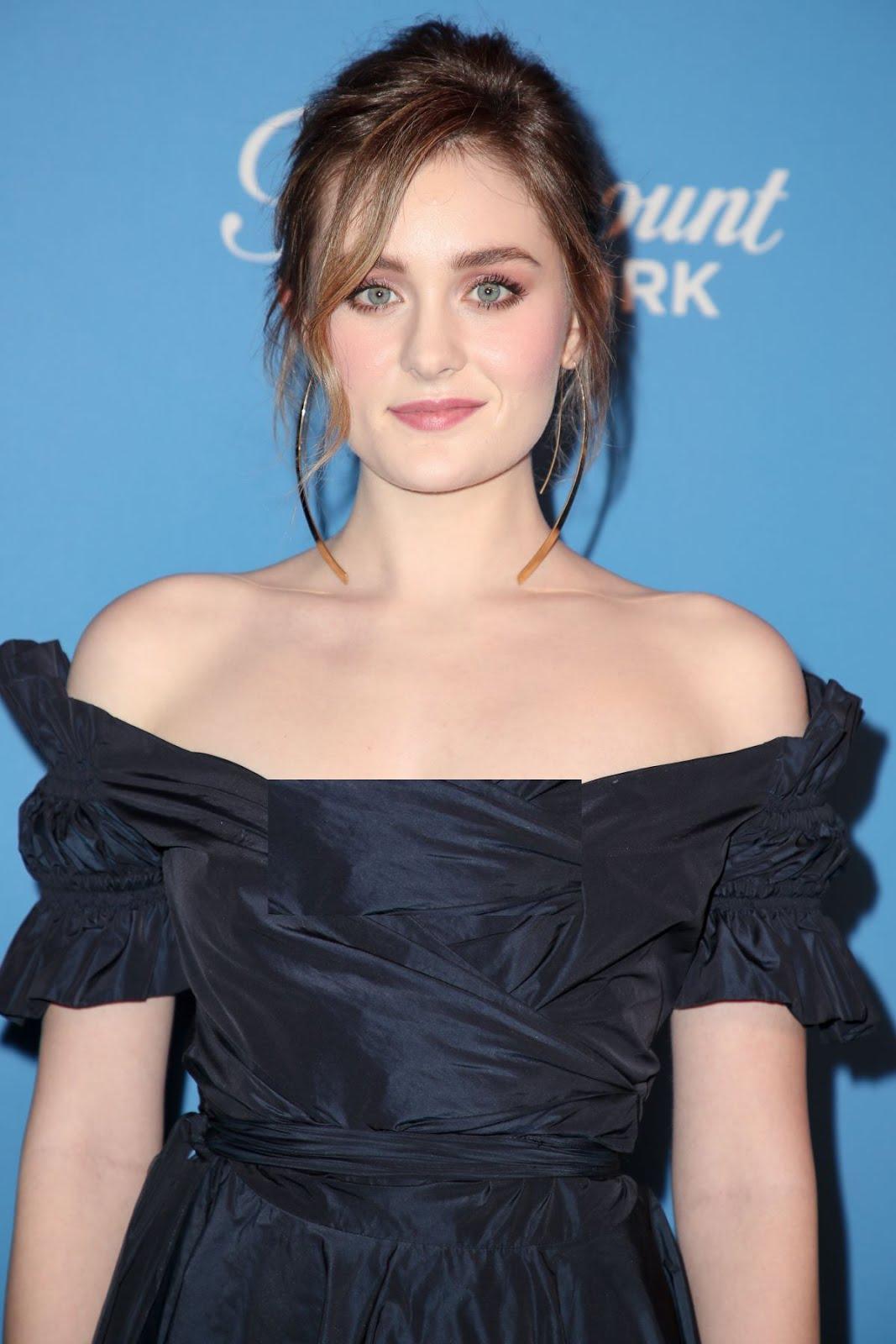 Grace Victoria Cox 2018 Freeform Summit Hollywood