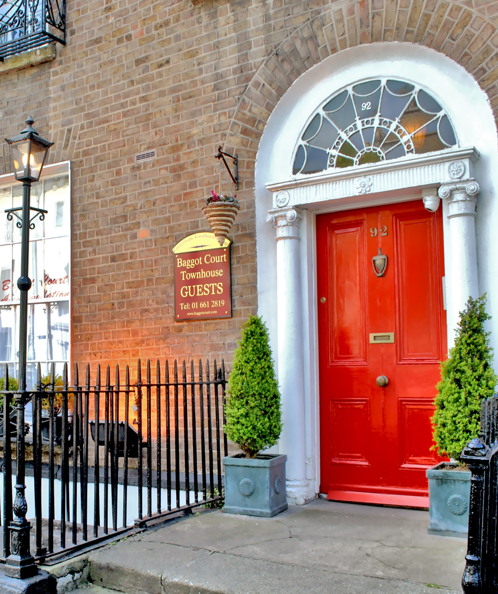 Cheap Townhouses: Baggot Court Townhouse Hotel Dublin
