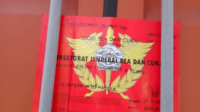 Picture Indonesia Customs Seal Tg.Priok Jakarta Indonesia