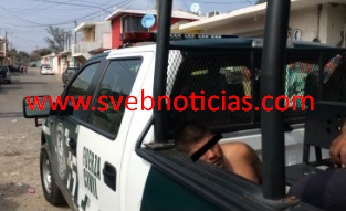 Capturan dentro de una escuela del Coyol a presunto violador en Veracruz