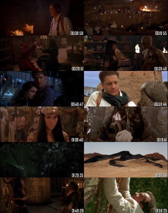 The Mummy Returns 2001 BRRip 720p 480p Dual Audio Hindi English Full Movie Download