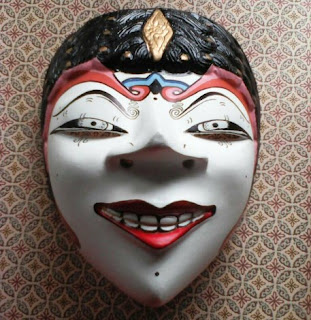 5. Indonesian Mask: Topeng Samba