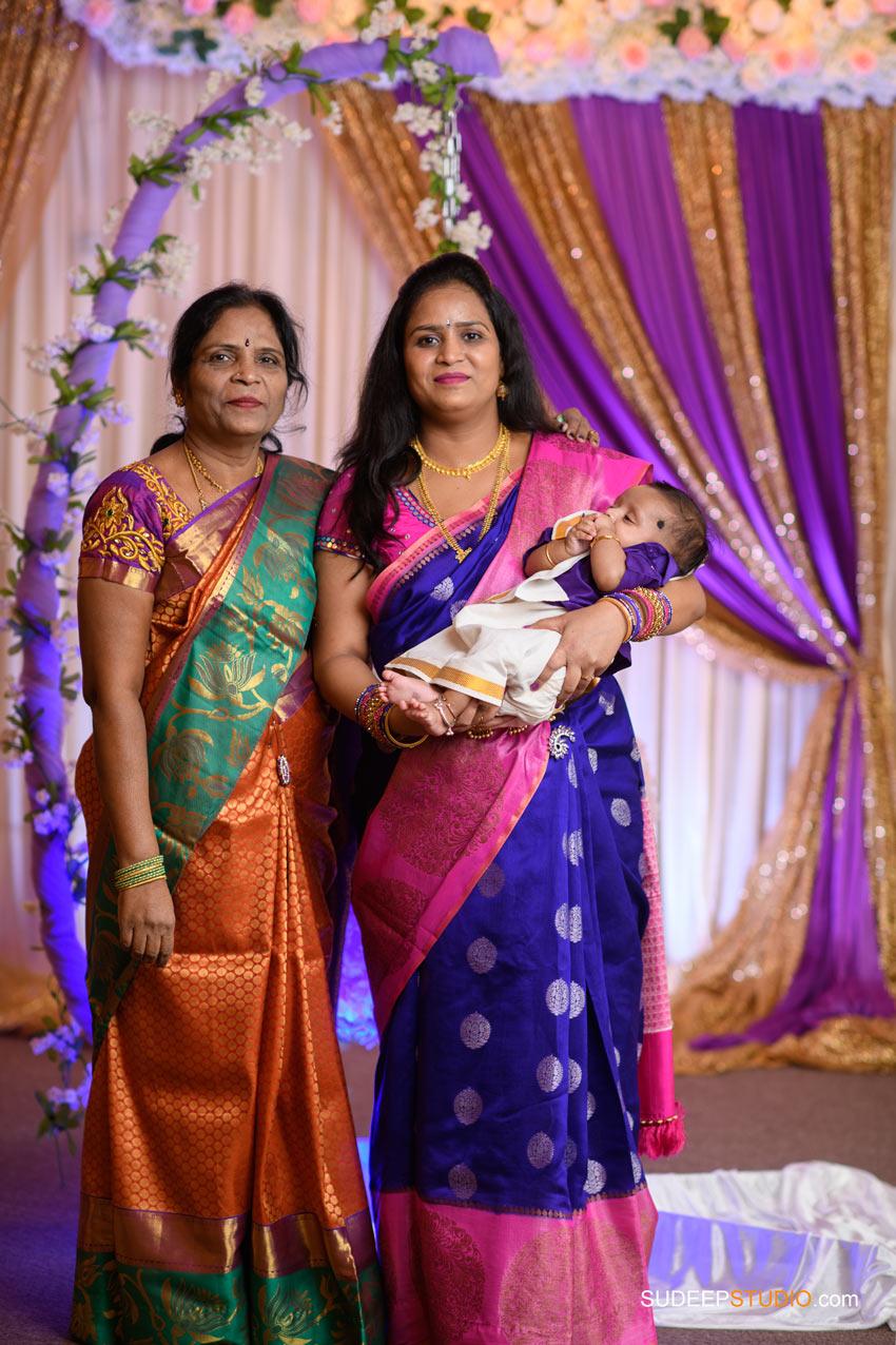 Indian Cradle Ceremony Photography Northville Farmington Hills SudeepStudio.com Ann Arbor Indian Event Photographer