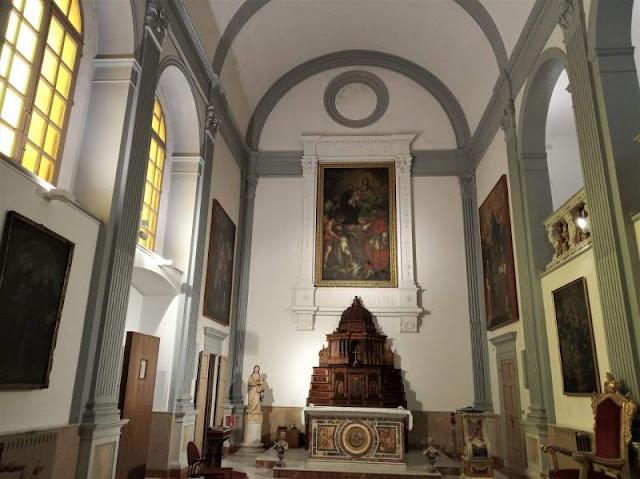 cappella vescovile nel duomo di cefalù