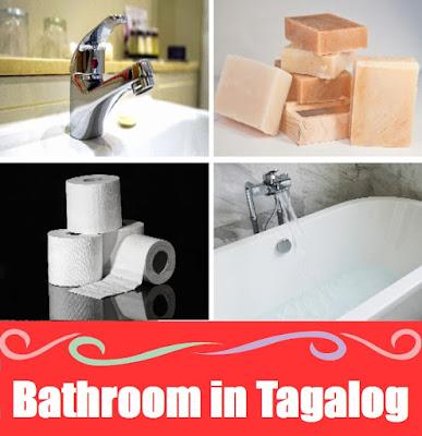 Bathroom Word List in Tagalog