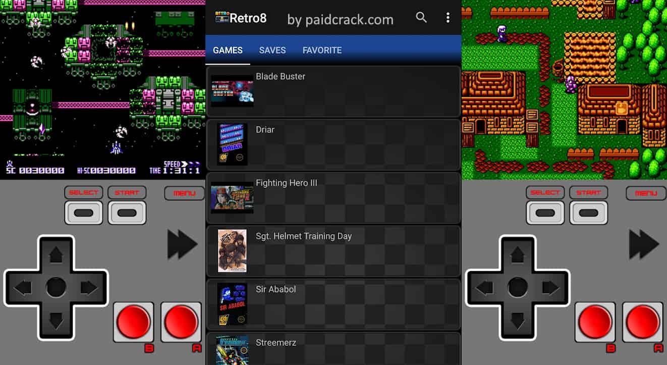 Retro8 (NES Emulator) Mod Apk 1.1.14 [Paid]
