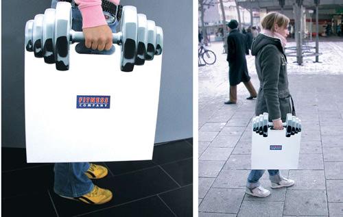 Desain Paper Bag/ Tas Belanja Antik dan lucu