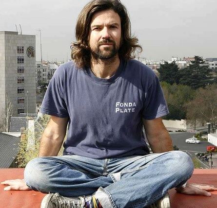 Foto de Pau Donés con cabello largo