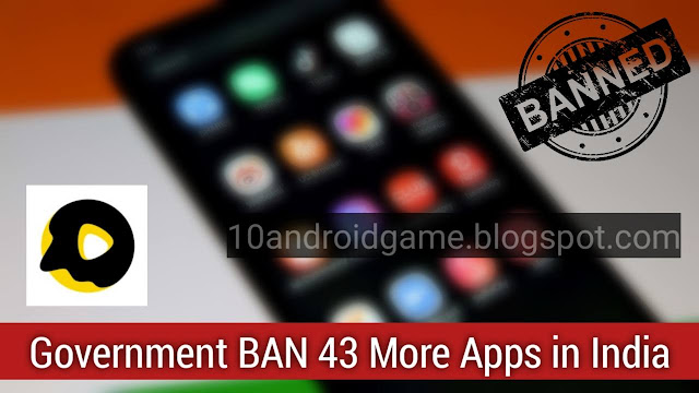Chinese 43 apps Ban India