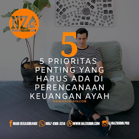 5 Prioritas Yang Di Utamakan Dalam Perencanaan Keuangan Ayah