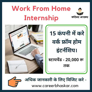 Work From Home Internships, Work From Home Job, Work From Home, Work From Home Internships 2020, Work From Home Internships Apply Now, Work From Home Internship