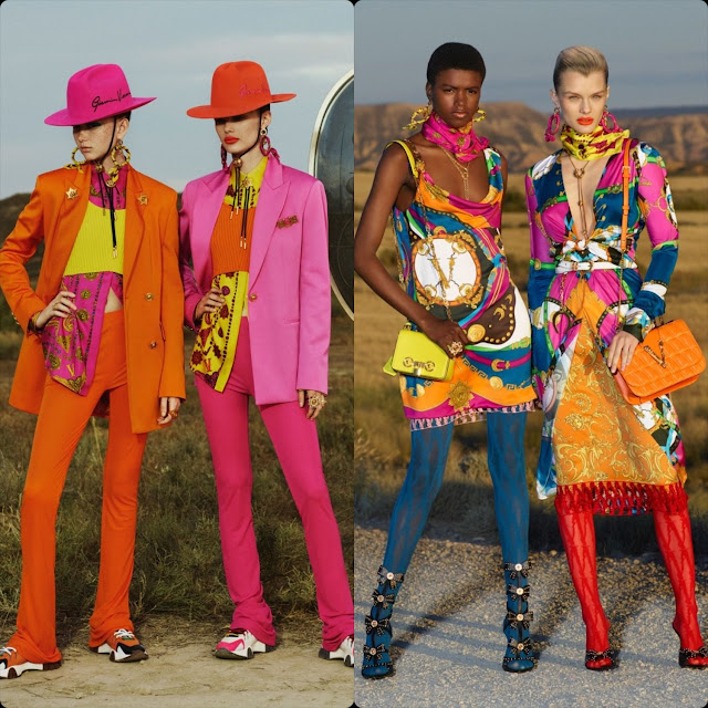 Versace Crociera 2020 Milano Ricorrere. RUNWAY MAGAZINE ® Collections. RUNWAY NOW / RUNWAY NEW