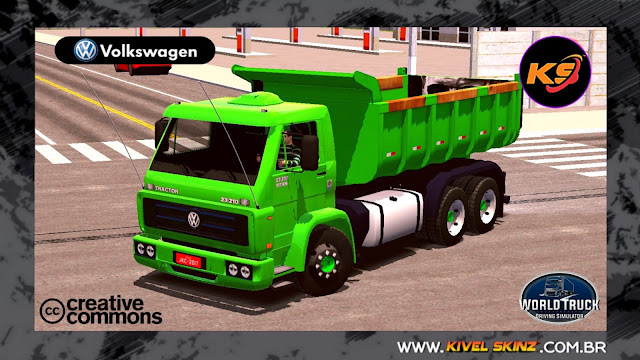 VW TITAN CAÇAMBA - HEAVY GREEN