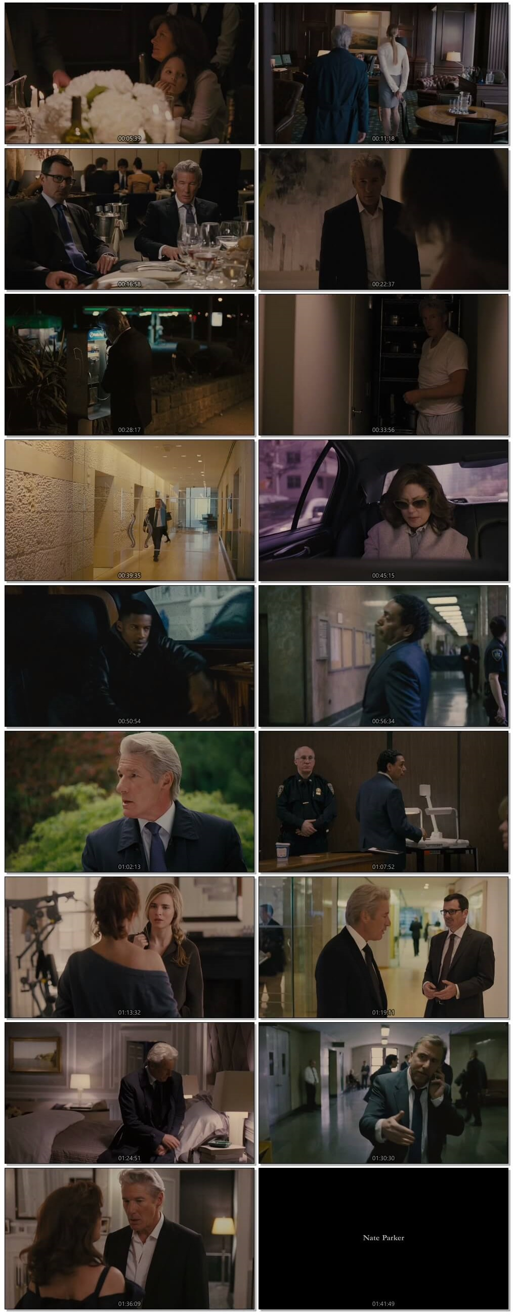 Screen Shot Of Arbitrage 2012 300MB Full Movie Hindi Dubbed Free Download 480P BRRip Small Size PC Movie