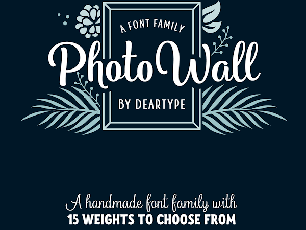 Download Photowall Font Family Free