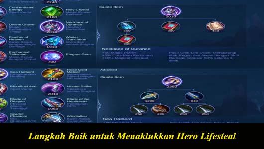 Langkah Baik untuk Menaklukkan Hero Lifesteal