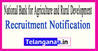 NABARD (National Bank for Agriculture and Rural Development) Recruitment Notification 2017