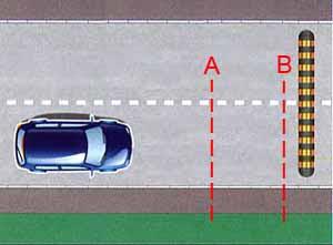 Техника торможения автомобиля перед лежачим полицейским