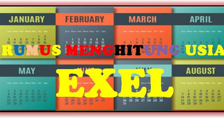Aplikasi Menghitung Usia Masa Kerja Format Exel Tahun Bulan Hari Sd Negeri 1 Asemrudung