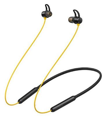 Neckband Bluetooth earphones with mic