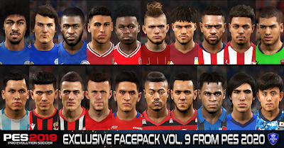 PES 2019 Exclusive Facepack Vol. 9 by Sofyan Andri