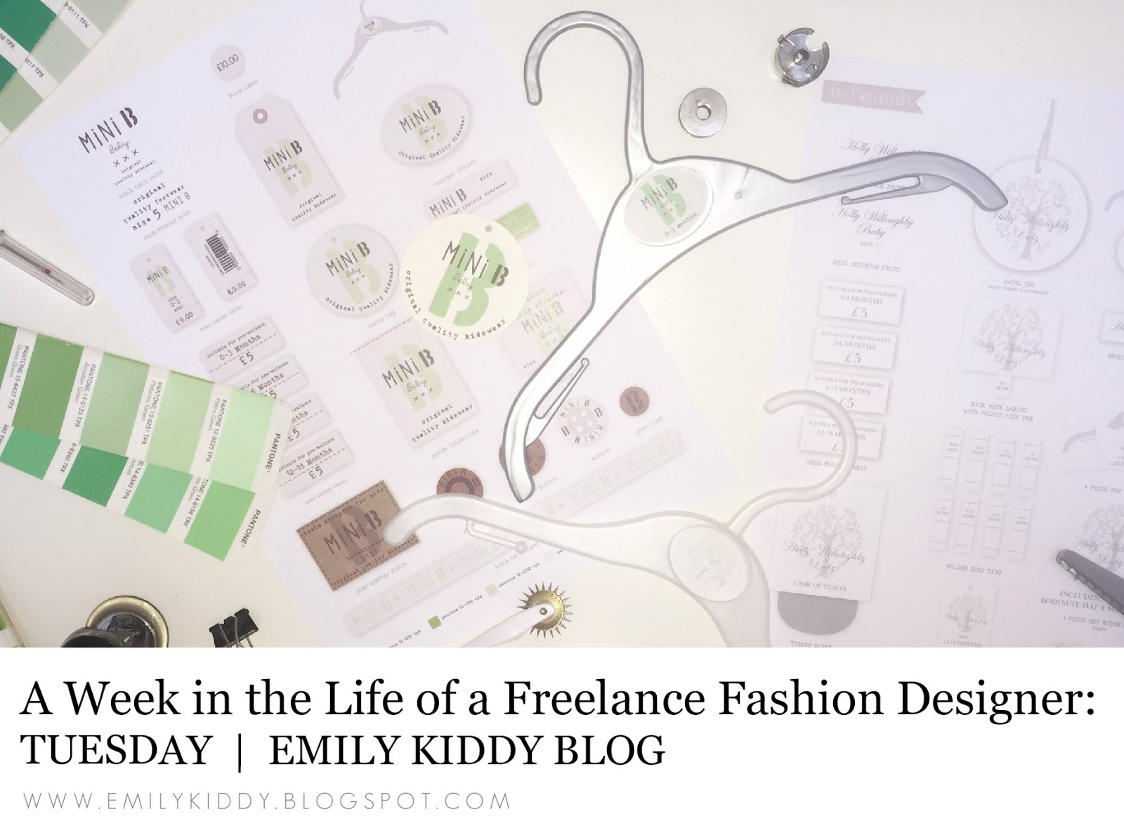 Emily Kiddy A Week In The Life Of A Freelance Fashion Designer Tuesday