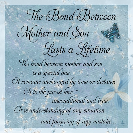 Short mother and son relationship lovely bond quotes sayings images  Happy Mothers Day 2018