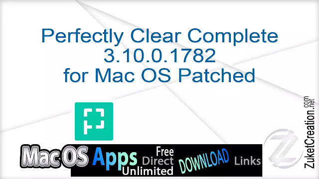 Perfectly Clear Complete 3.10.0.1782 for Mac OS Patched