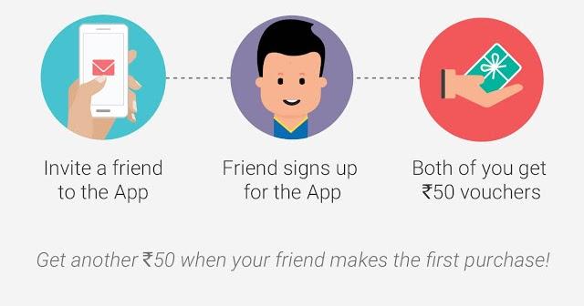 Flipkart App Referral Earn Rs 50 Per Invite Unlimited