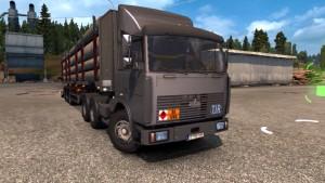MAZ 6422 Truck Mod Fixed